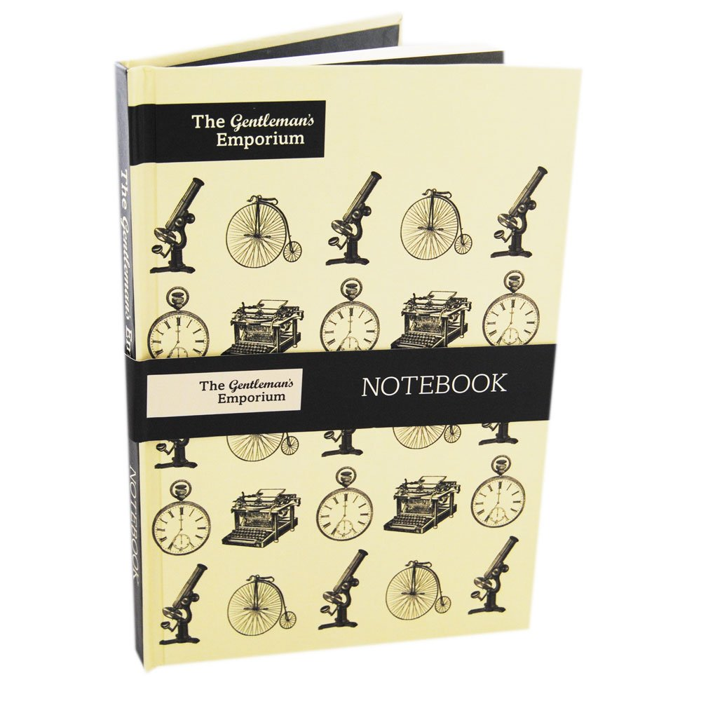 Robert Frederick Cased Notebook Gentleman' s Emporium, in plastica, Colori Assortiti, Formato A5 RFS9924