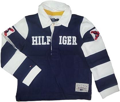 Tommy Hilfiger Niños Cuello Camiseta de manga larga camisa Polo ...