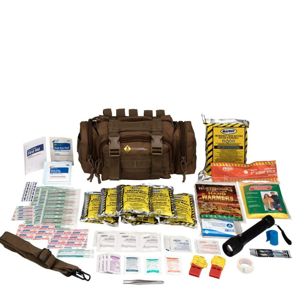 Emergency Preparedness 1 Person First Aid 3 Day Survival Kit |Emergency Survival Kit 72 Hour Emergency Survival Bag