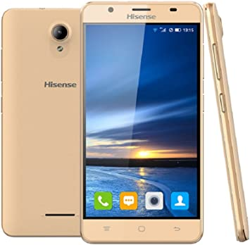 TELEFONO HISENSE HS-U989GD Pro P5.5 QC 1GB 16GB 13MP A6 Dorado ...