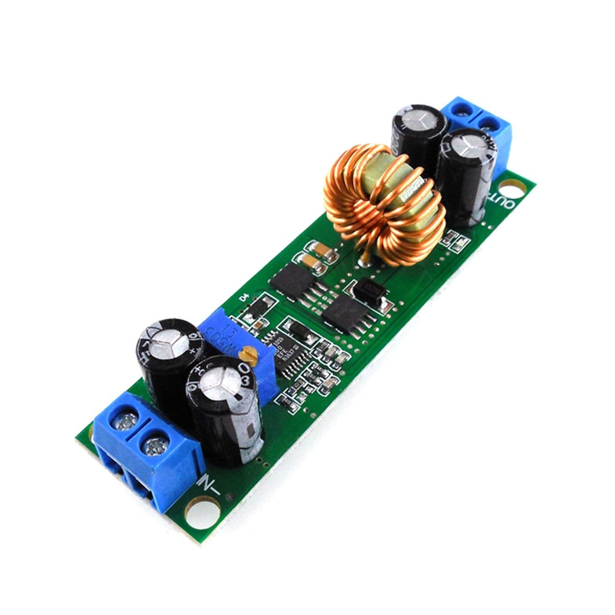 Lofenlli Adaptateur HW636 Convertisseur de Tension 60V 48V 36V 24V /à 19V 12V 9V 5V 3V R/égulateur abaisseur r/églable Module r/égulateur r/égulateur stabilisateur