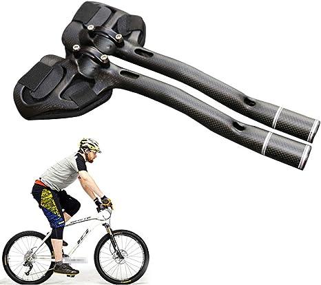 NANANA Manillar Aero 31.8Mm Manillar Triatlon 340Mm Apoyabrazos TT, Bicicleta Resto Manillar Ciclismo Aero Triatlón MTB Carretera, Manillar Triatlon Bicicleta Manillar Brazo Relax Bar: Amazon.es: Deportes y aire libre