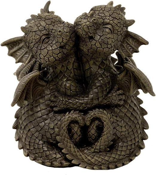 MC - Figura decorativa para jardín, diseño de dragón: Amazon.es: Hogar