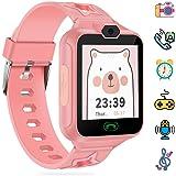 AGPTEK Smartwatch Niños con 8GB SD Tarjeta, Reloj Inteligente para Niños con Hacer Llamada, SOS, Cámara, Música, Juegos…
