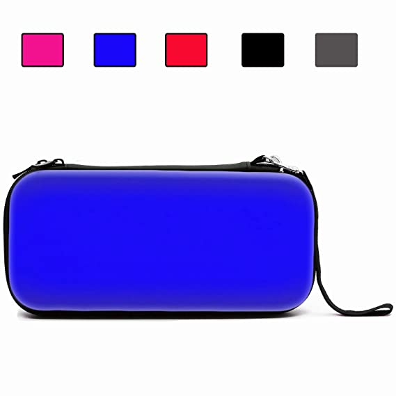 a132d257036 Image Unavailable. Image not available for. Color  AIMAKE Nintendo Switch  Carrying EVA Waterproof Hard Protective Deluxe Travel Case with 8 ...