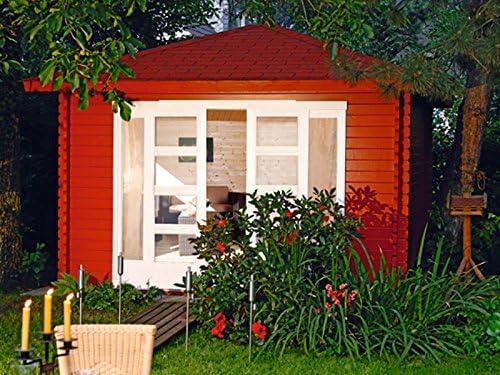 Wolff Finn Jardín Casa Raja 40 de St con puerta corredera: Amazon.es: Jardín
