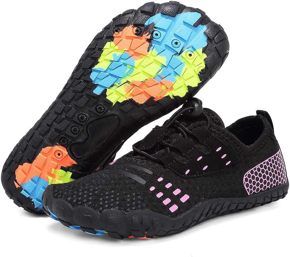 Toddler//Little Kid//Big Kid Boys /& Girls Water Shoes Lightweight Comfort Sole Easy Walking Athletic Slip on Aqua Sock