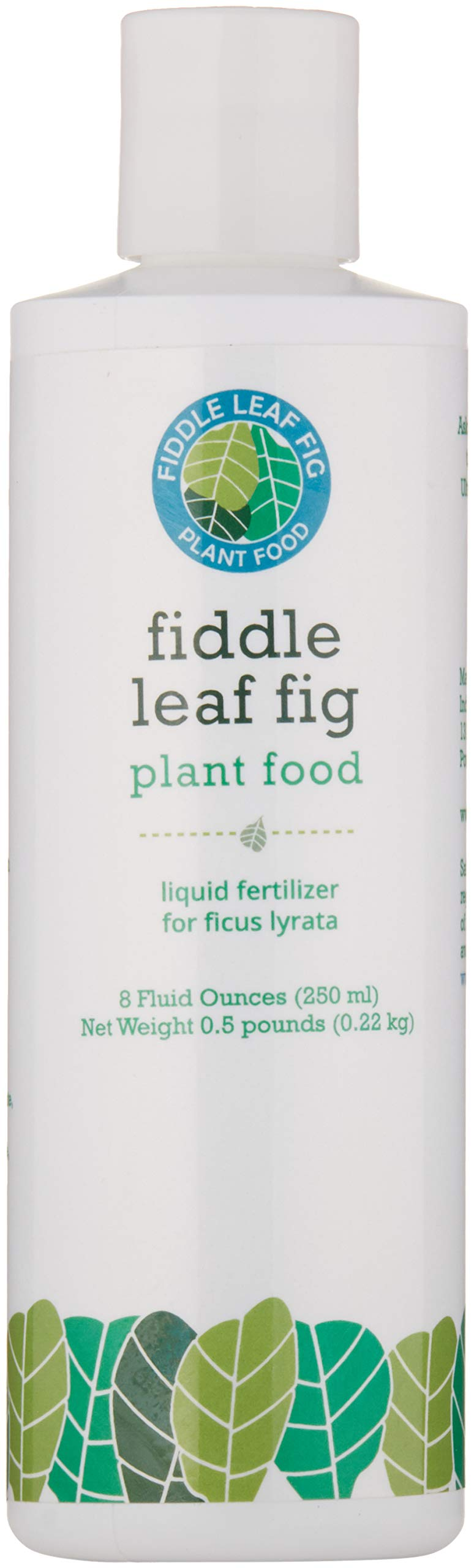 Fiddle Leaf Fig Tree Plant Food for Ficus Lyrata - Calcium Fortified, Urea-Free and with NPK Ratio of 3-1-2 for Healthy Roots, Stems and Leaves (8 Ounces)) by Fiddle Leaf Fig Plant Food