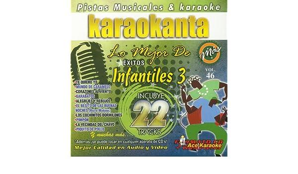 - Karaokanta KAR-8046 - Infantiles 3 / Lo Mejor de... - Spanish CDG - Amazon.com Music