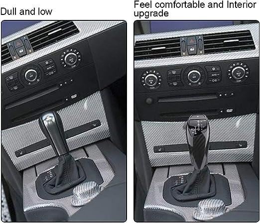 LHD Archivo automático LED Shift Knob Gear Shifter para E46 E60 ...