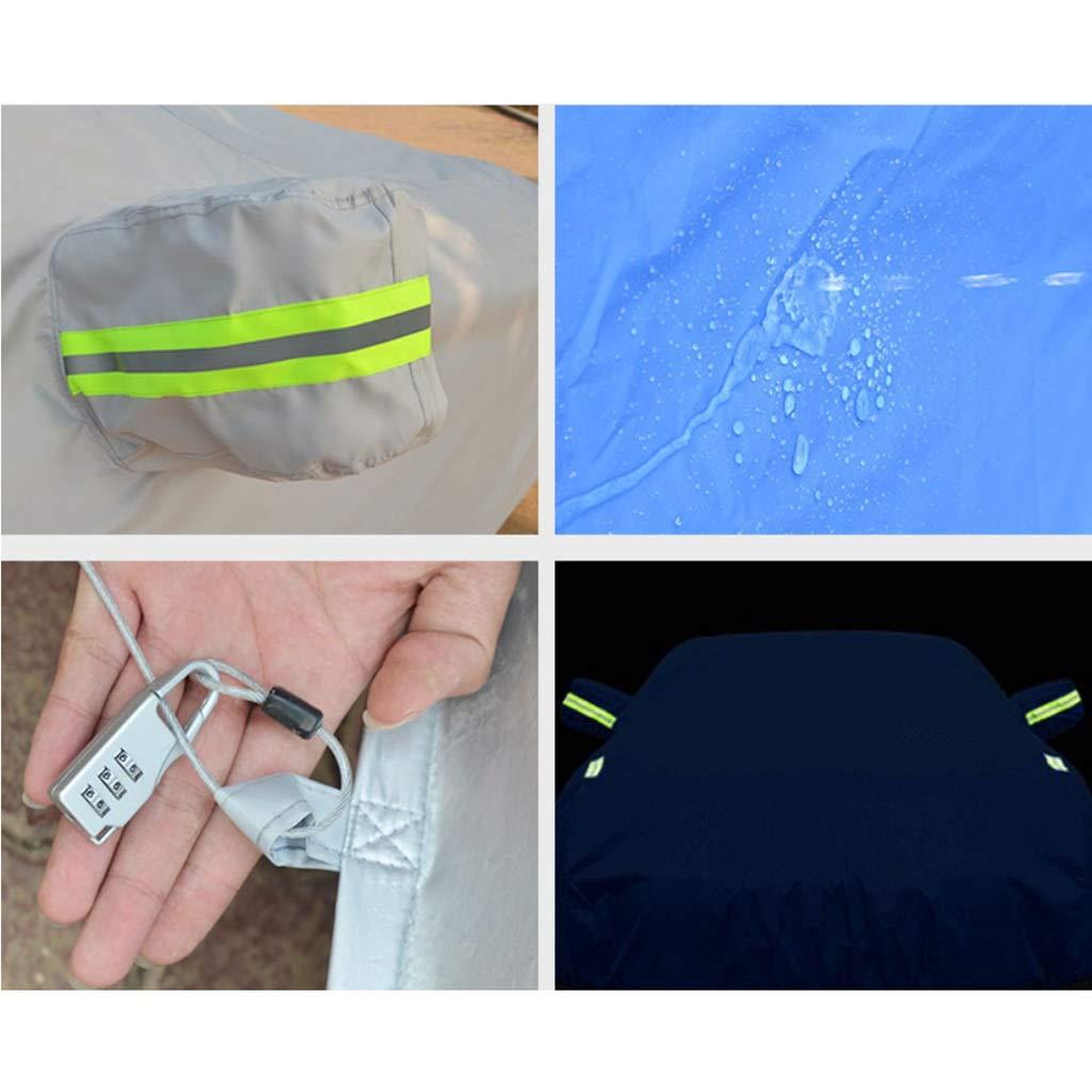 colore : A , dimensioni : 4881*1847*1353mm antivento rinfrescante Uno strato di cotone sfilacciato allinterno Impermeabile antipolvere resistente ai raggi UV Maserati GranTurismo Car Cover