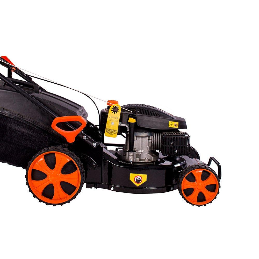 Groway GLM48 - Cortacésped a gasolina 200 cc con tracción, auto ...