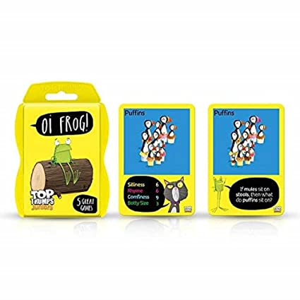 Top Trumps 035910 Juego de Cartas Oi, Multi: Amazon.es ...