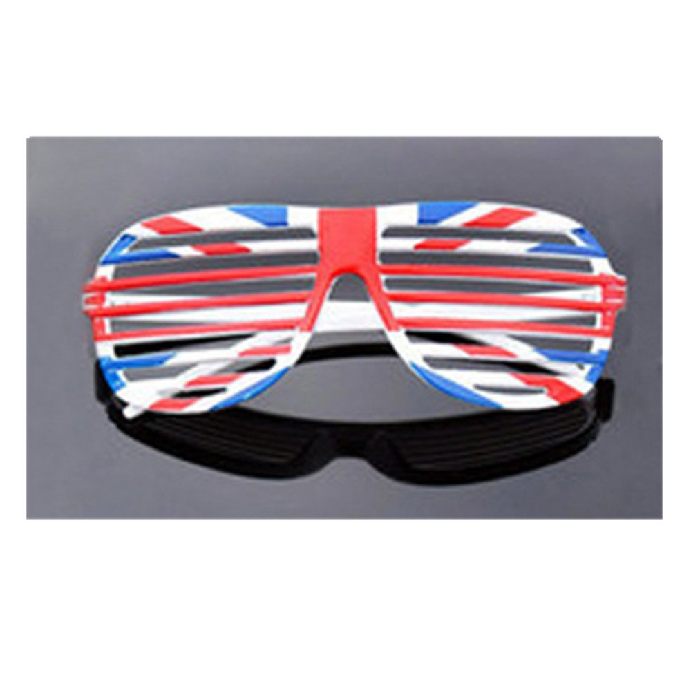 bb2ddfc76ac06 TRIXES England Union Jack Shutter Shades Glasses Six Nations World Cup   Amazon.co.uk  Sports   Outdoors