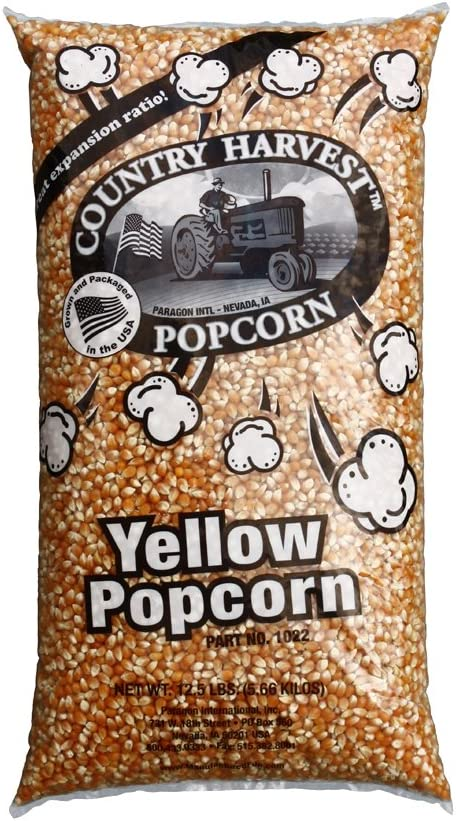 Paragon Bulk Quad-Bag Yellow Corn, 50-Pounds (12.5-Pound/bag), Pack of 4