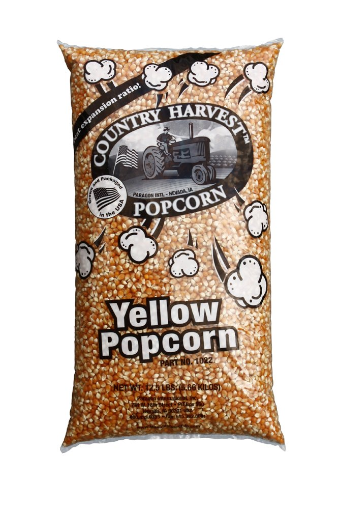 Paragon Bulk Bag Yellow PopCorn (12.5-Pounds) by Paragon - Manufactured Fun