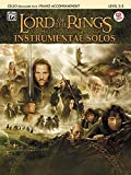 The Lord of the Rings Instrumental Solos for Strings: Cello (with Piano Acc.), Book & CD
