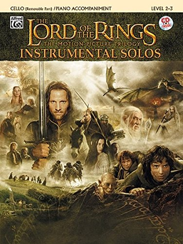 The Lord of the Rings Instrumental Solos for Strings: Cello (with Piano Acc.), Book & CD ebook
