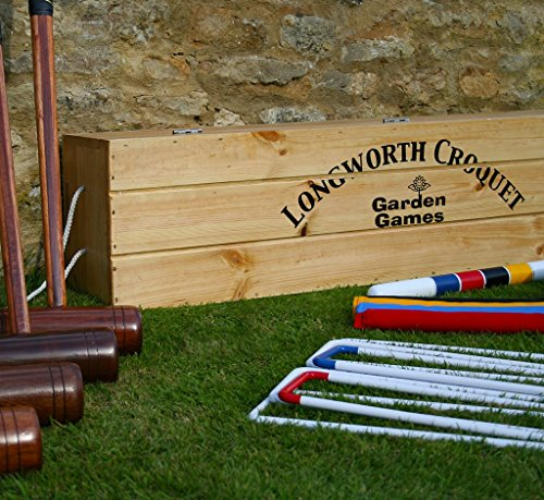Garden Games G.G. Longworth Croquet Set (Boxed, 4 Player)