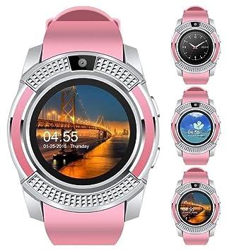 LFDYDSH Reloj Inteligente V8 Hombres Bluetooth Relojes Deportivos ...