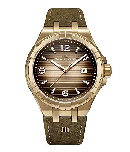Maurice Lacroix Aikon Bronze AI1028-BRZ01-720-1 Reloj de Pulsera para Hombres Edición Muy Limitada: Amazon.es: Relojes