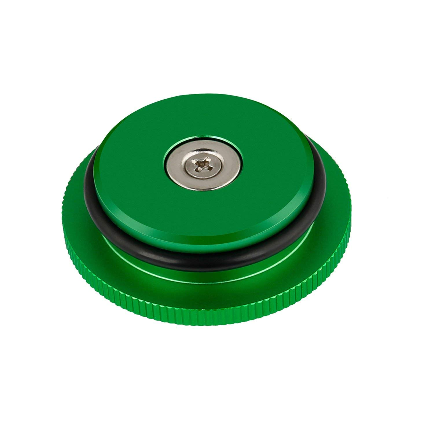 for Dodge Ram Auto Quick use Parts ELifeApply Green Billet Aluminum Magnetic Diesel Fuel Cap GREEN, New packaging 2013-2017 Diesel Fuel Cap