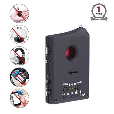 RF Signal Detector, Amayia Upgrate Anti-spy Detect Hidden Camera Bug Detector Signal Detector