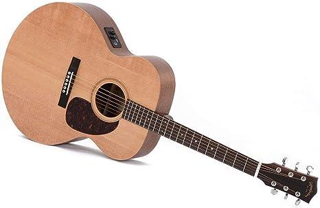 Guitarra Acústica/Electroacústica Sigma GJME+: Amazon.es ...