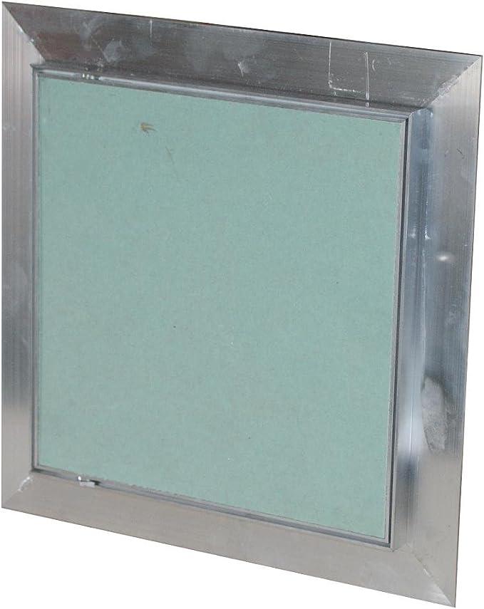 Tapa para revisión GK de Einlage pladur Marco de Aluminio Puerta Mantenimiento yeso, 200x300mm: Amazon.es: Hogar