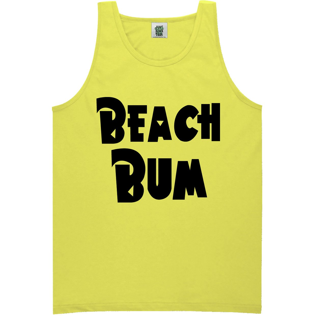 6 Bright Colors ZeroGravitee Youth Beach Bum Bright Neon Tank Top