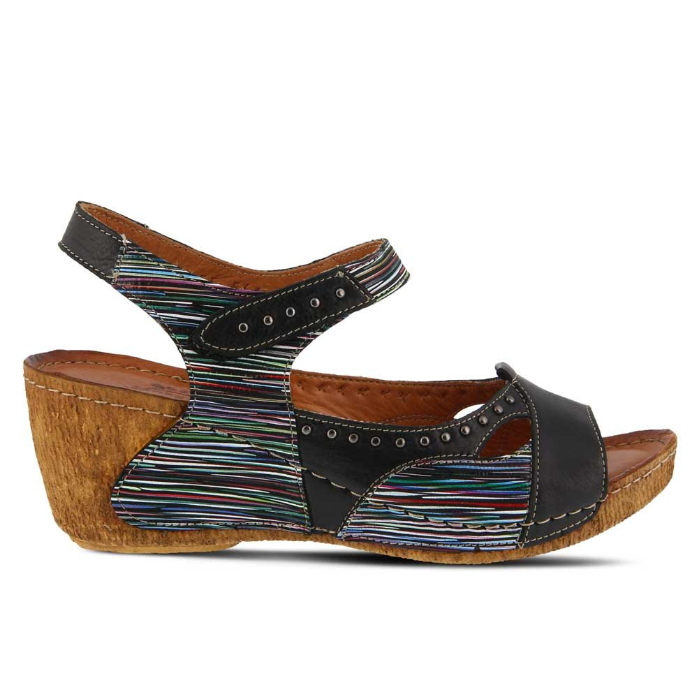get authentic cheap online Spring Step Leather Slide Sandals - Jaslyn choice for sale sale low shipping fee for sale for sale UphcvTN