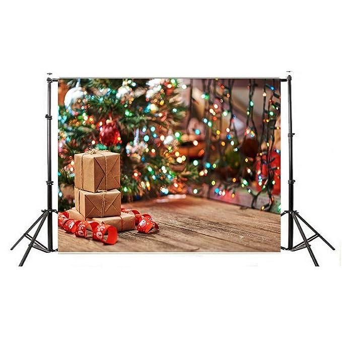 ADESHOP FC12 - Fondo Plegable para fotografía y vídeo (diseño navideño): Amazon.es: Juguetes y juegos