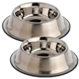 OurPets DuraPet Premium No-Tip Stainless Steel