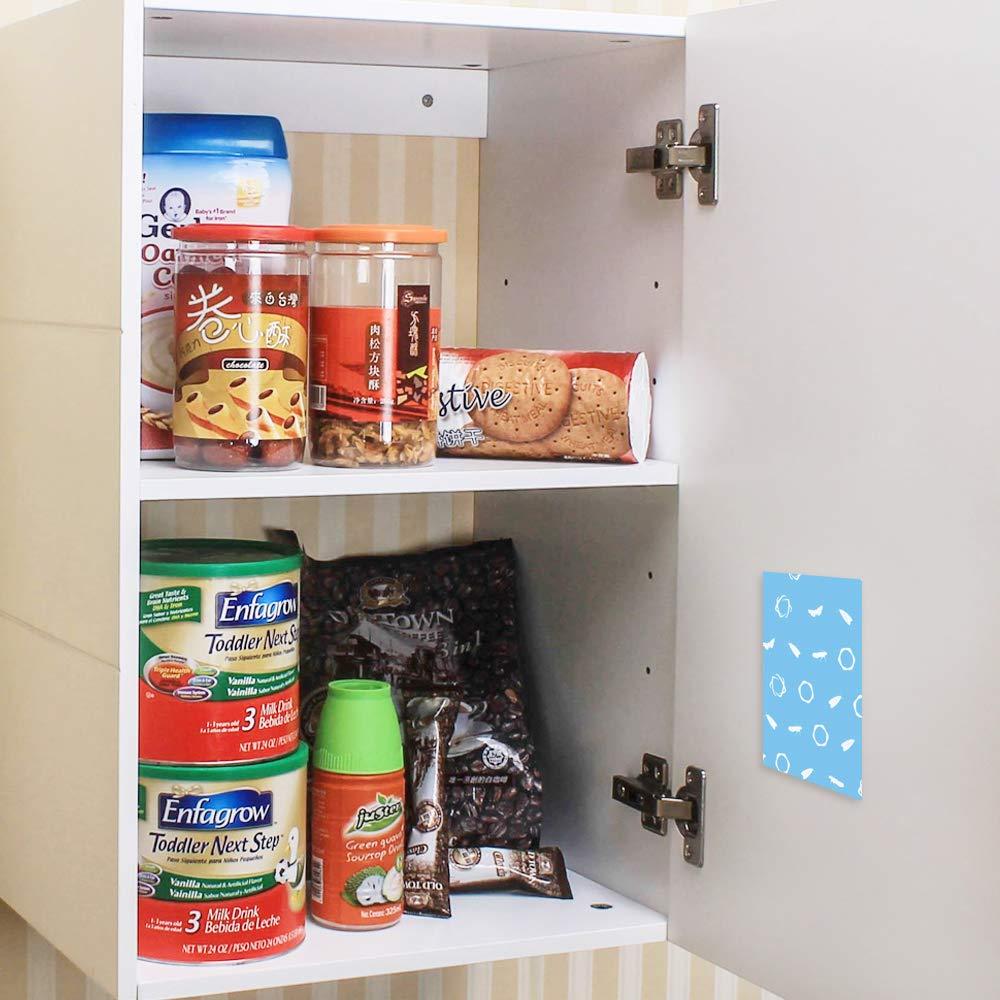 Pegamento Indio para Comidas y polillas polillas Faicuk 6 Unidades para despensa Ideal para cocinas o Espacios de Almacenamiento trampas de Alimentos feromonas