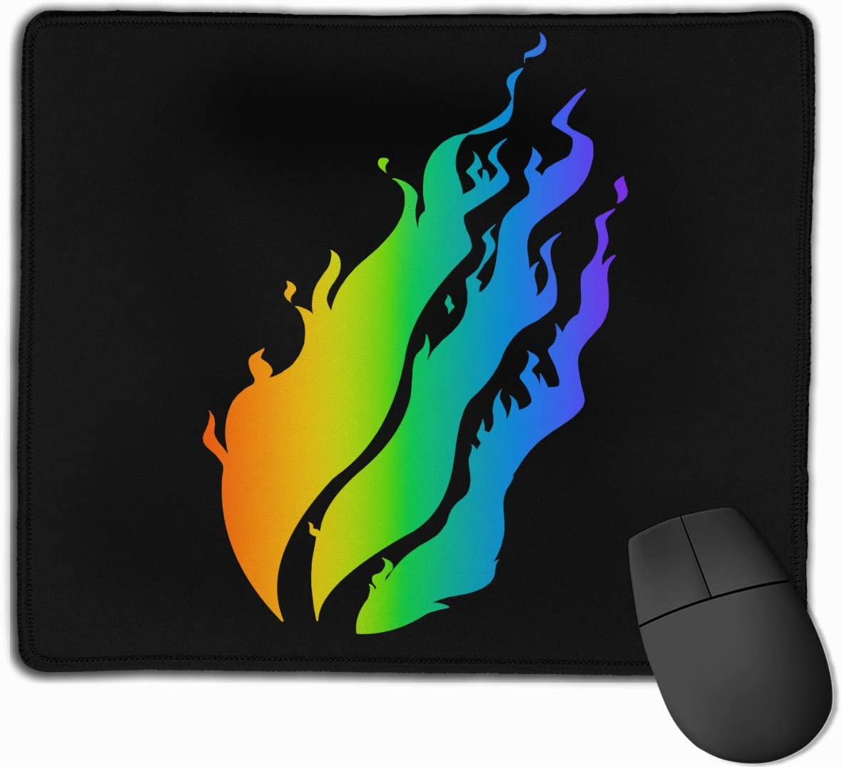 """Mouse Pads, Mousepad with Stitched Edge 10""""x12"""" Non-Slip Rubber Base Gaming Mouse Pad for Compute"""