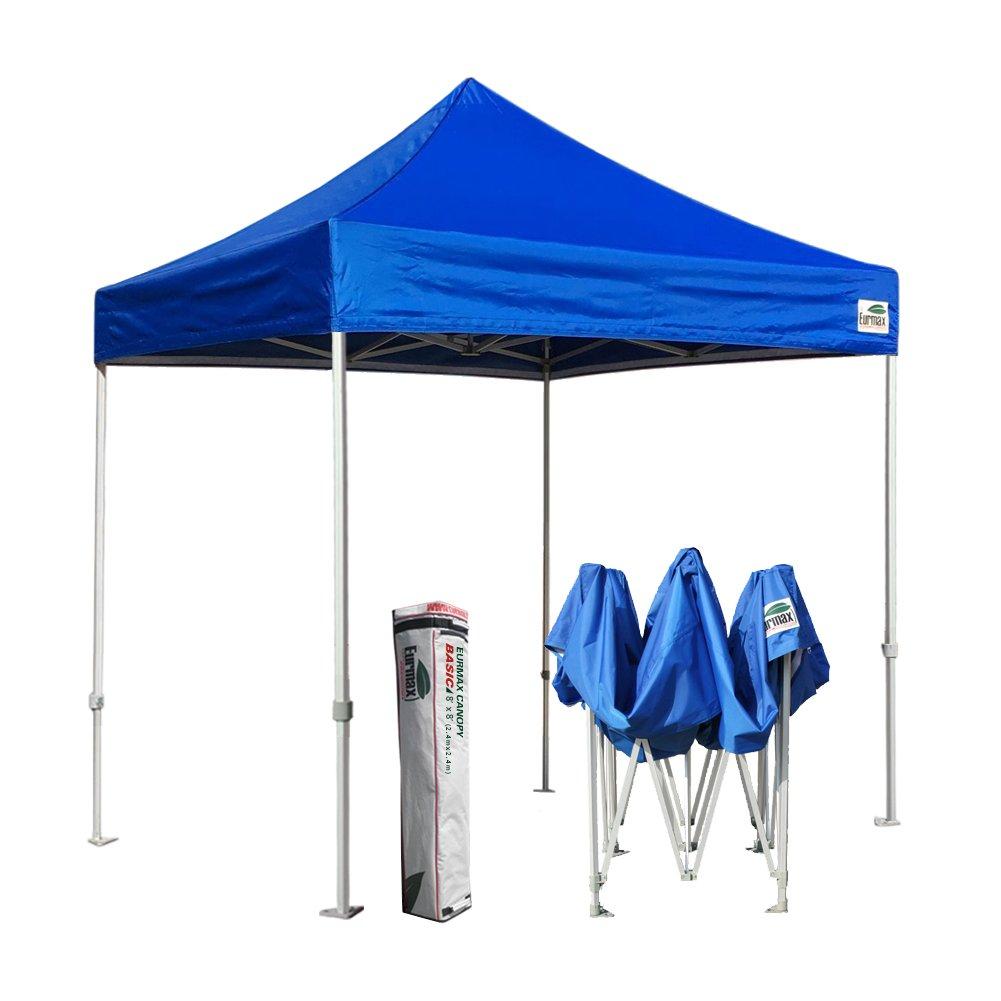 新しいEurmax基本EZ Pop UpキャノピーInstant Canopyアウトドアテント折りたたみガゼボ、4サイズ、5色 B00EN6I94Q  ブルー 5x5