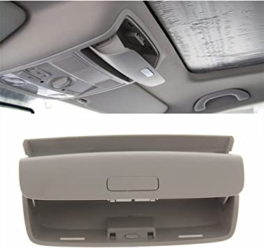 AndyGo Car Sunglasses Holder Box Glasses Storage Box Case Fit for Volkswagen VW Tiguan 2017 2018//Passat B8//Touran 2016