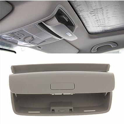 760bf4179f2 Amazon.com  YOCTM Car Inner Sun Glasses Holder Box Sunglass Storage Case  For VW Golf Mk5 Mk6 Passat B6 Skoda Yeti Superb Car Styling Accessories  (Gray)  ...