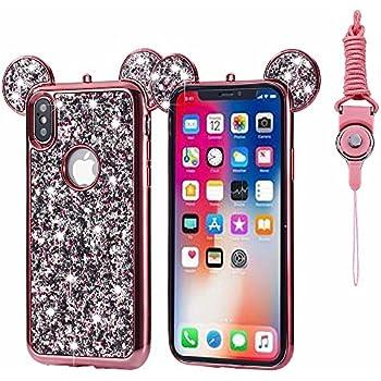 Amazon.com: iPhone X Case, Umiko(TM) Super Cute Sparkle