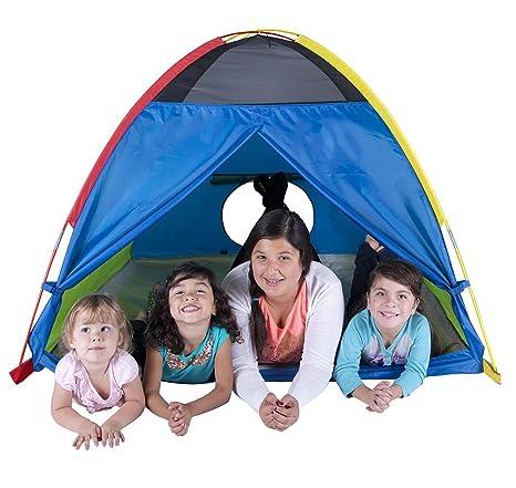 Pacific Play Tents Super Duper 4 Kid Dome Tent for Indoor / Outdoor Fun - 58u0026quot  sc 1 st  Amazon.com & Amazon.com: Pacific Play Tents Super Duper 4 Kid Dome Tent for ...