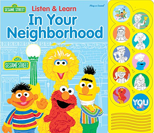 Sesame Street® Listen and Learn in Your Neighborhood