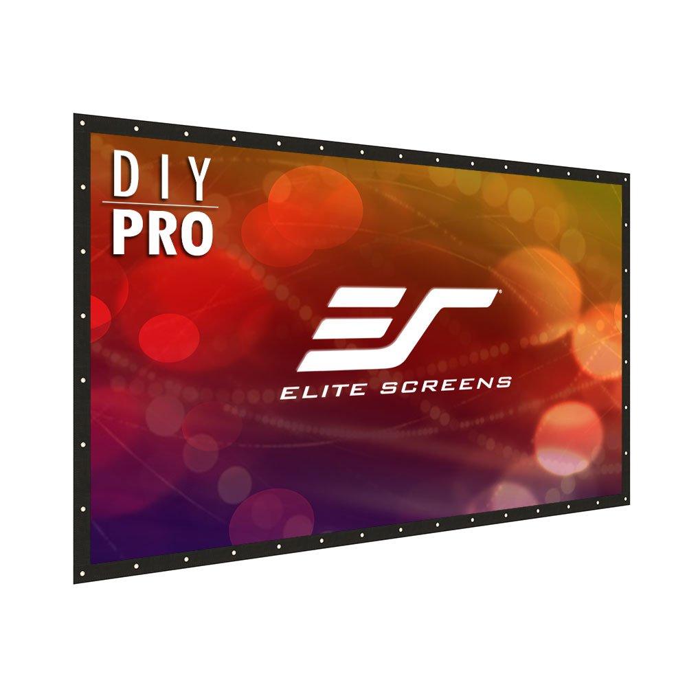Elite Screens DIY Pro Rear Series, 100-inch 4:3, Do-It-Yourself Indoor & Outdoor Projection Screen, Model: DIY100RV1 Elitescreens