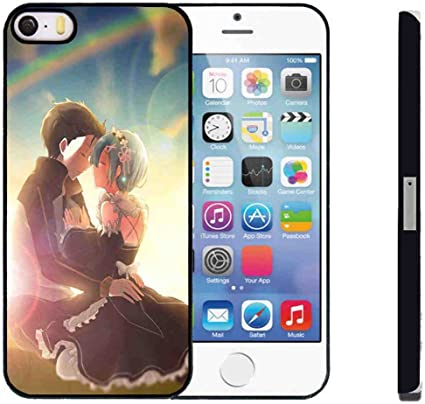 Case Coque pour Apple iPhone 5 5S SE Anime Manga Rem iPhone 5s ...
