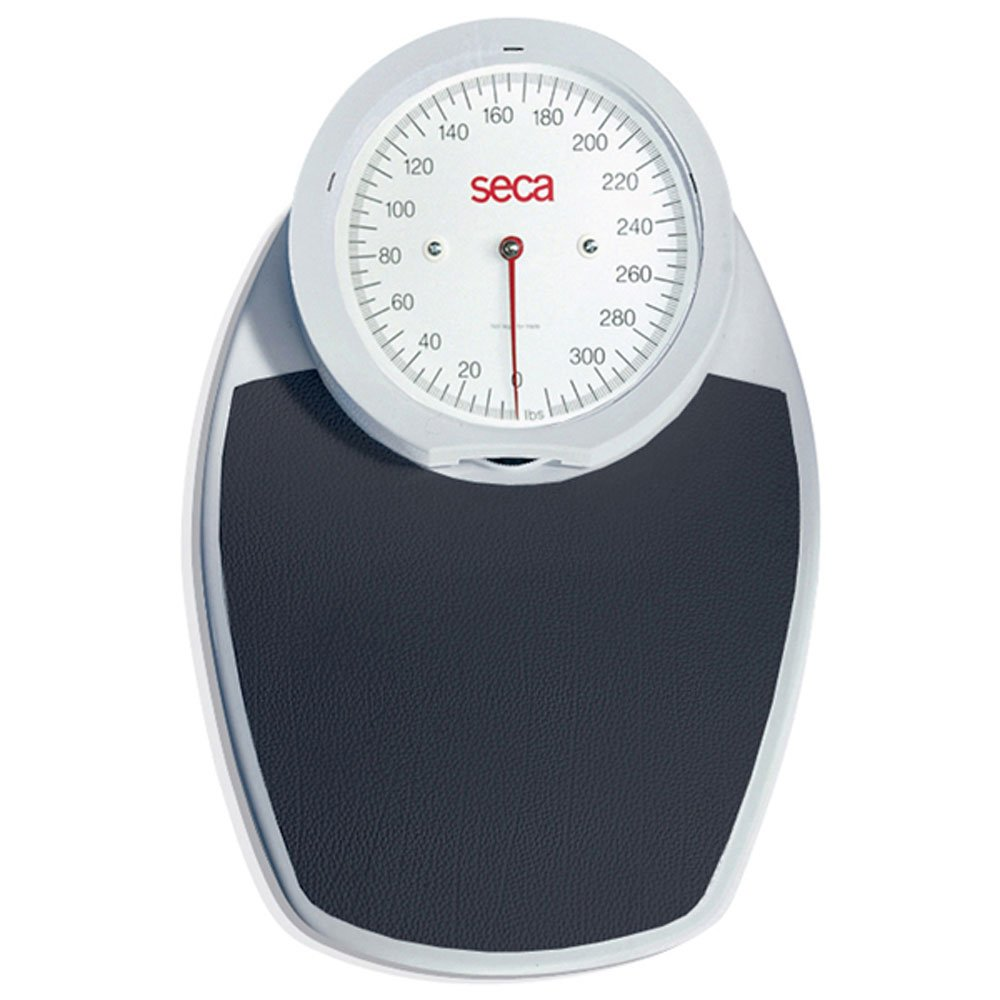 Seca 750 (750KL) Mechanical Personal Scale-White/Black Mat (7501319004) by Seca Scales