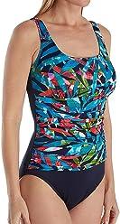 357101776c0 Trimshaper Mamba Debbie Shirred Slimming One Piece Swimsuit (6520303)