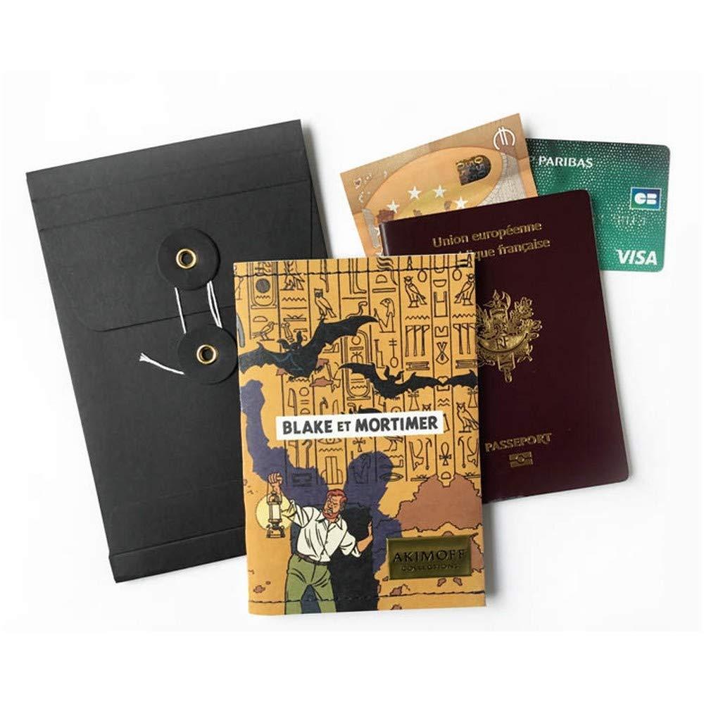 Akimoff Collections Cartera de Viaje Blake y Mortimer El ...