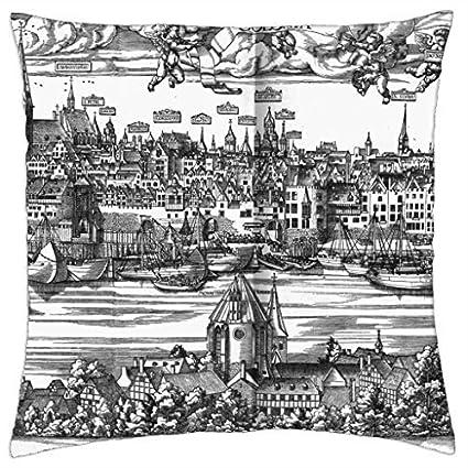Kln, Colonia Claudia Ara Agrippinensium - Throw Pillow Cover Case (16