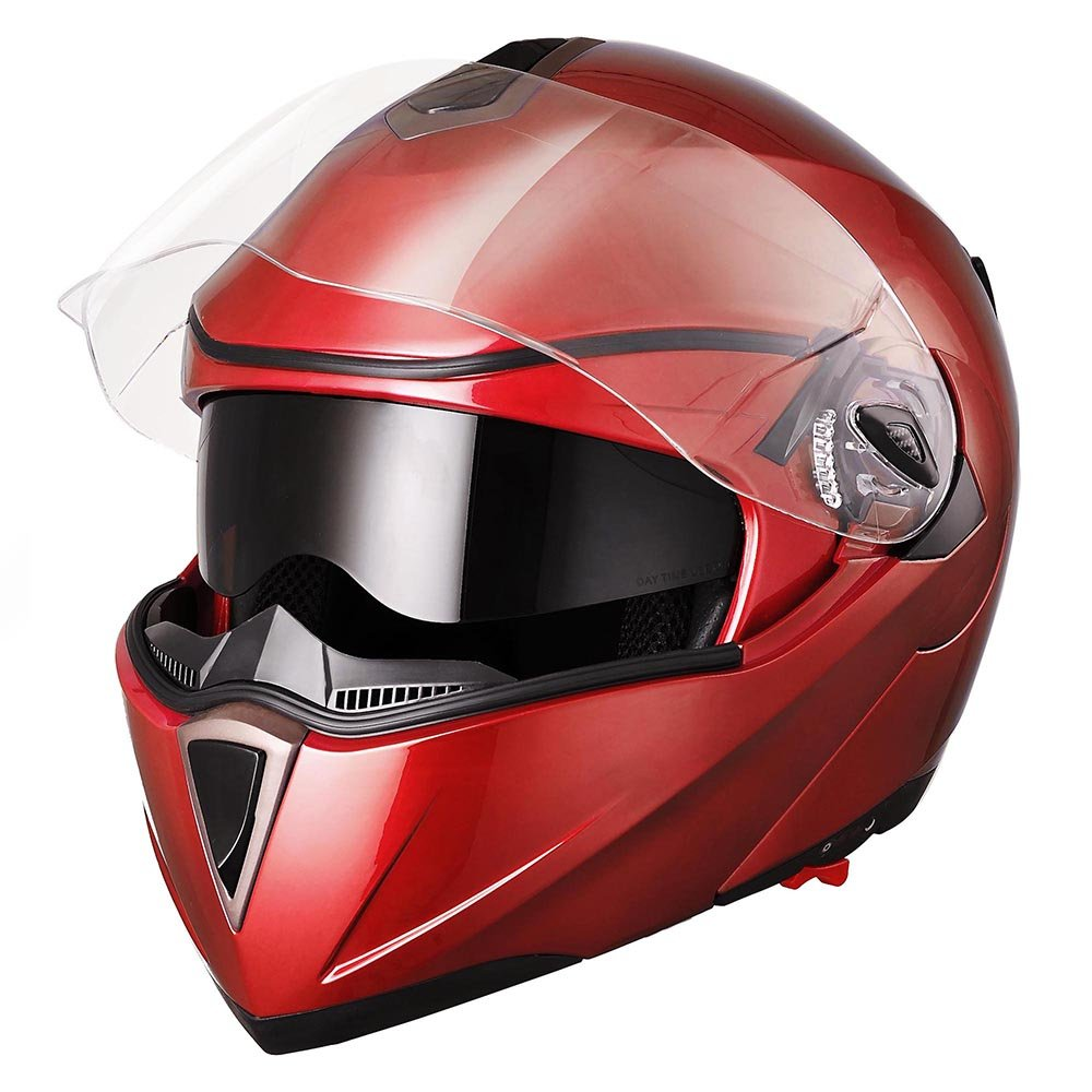 Yescom Full Face Flip-up Modular Motorcycle Helmet