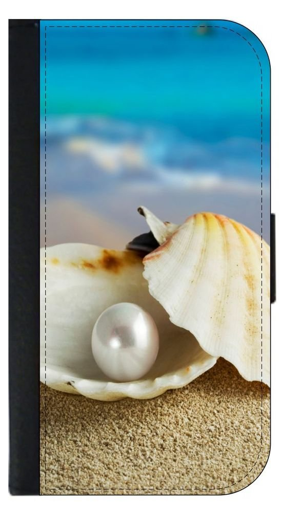 Oyster's Pearl Passport Case
