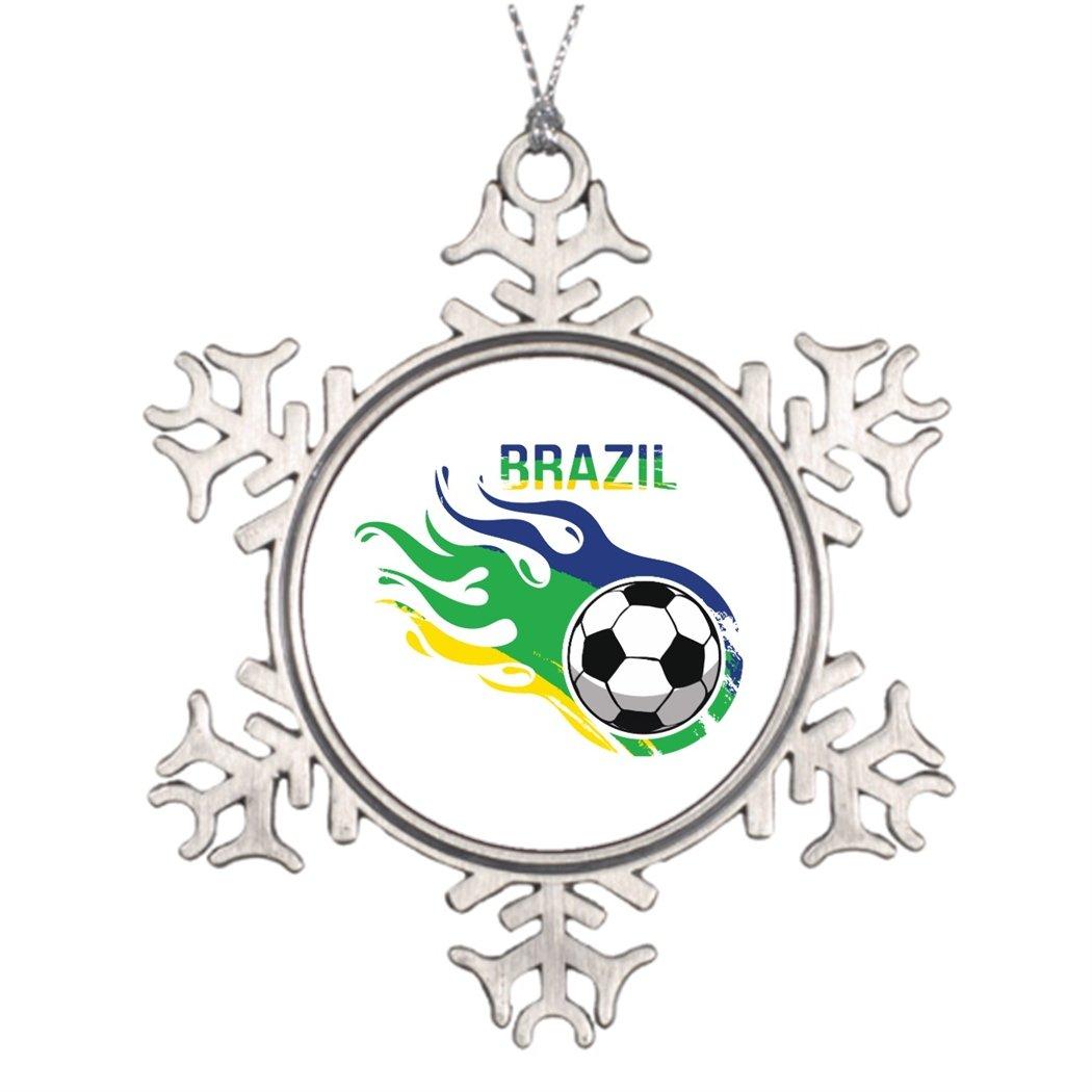 Árboles de Navidad decorado Brasil balón de fútbol Vintage cristal ...